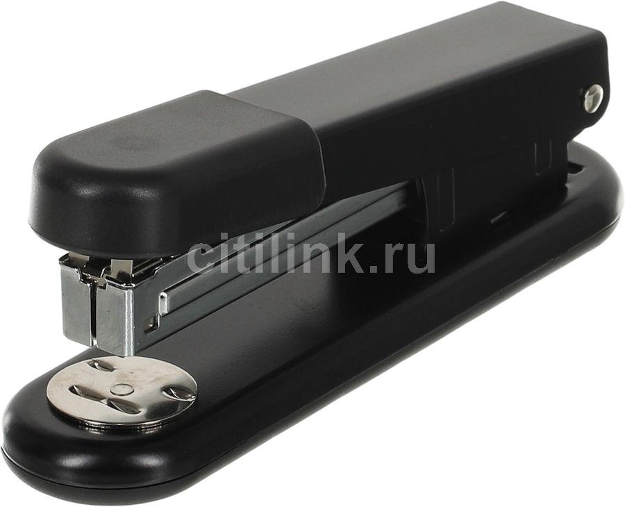 Степлер Kw-Trio 5516 Half-strip Pollex 24/6 26/6 (20листов) встроенный антистеплер ассорти 105скоб