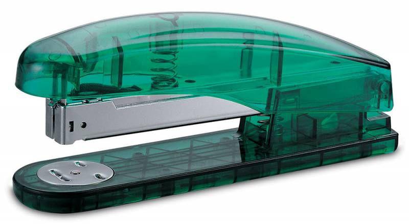 Степлер Kw-Trio 5719T Modish 24/6 26/6 (20листов) ассорти/прозрачный 210скоб металл/пластик