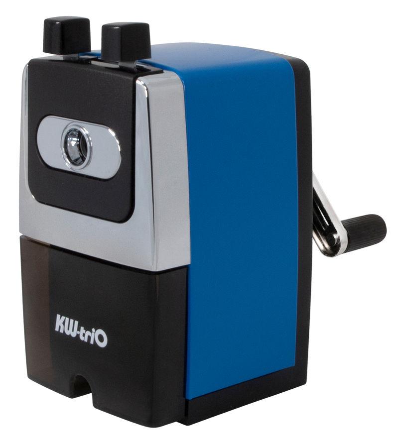Точилка для карандашей KW-TRIO 307Ablue  механическая,  синий [307a-blu]