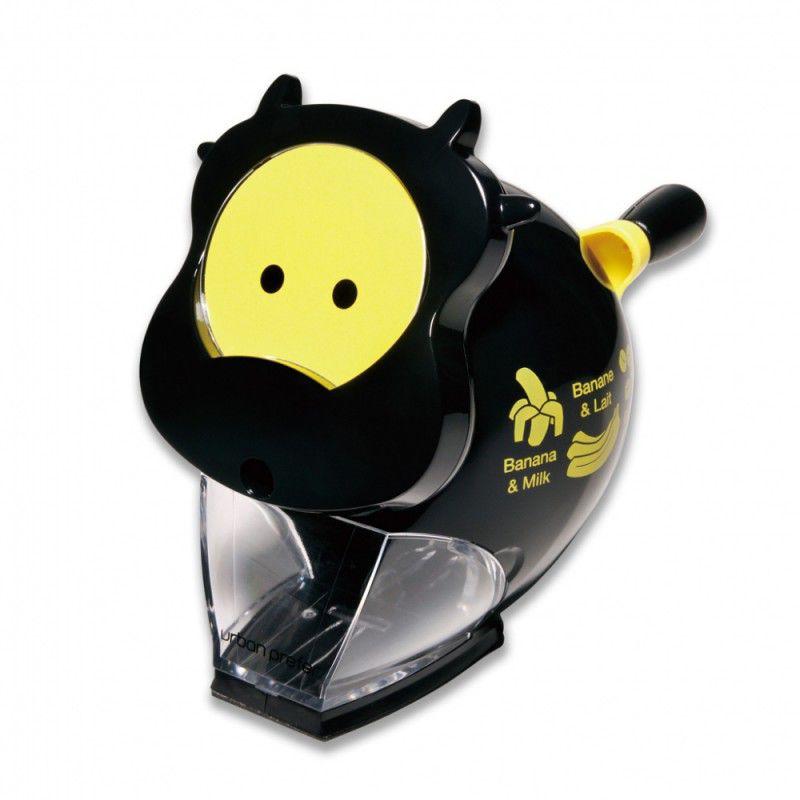 Точилка для карандашей KW-TRIO 30RA Корова  механическая,  черный