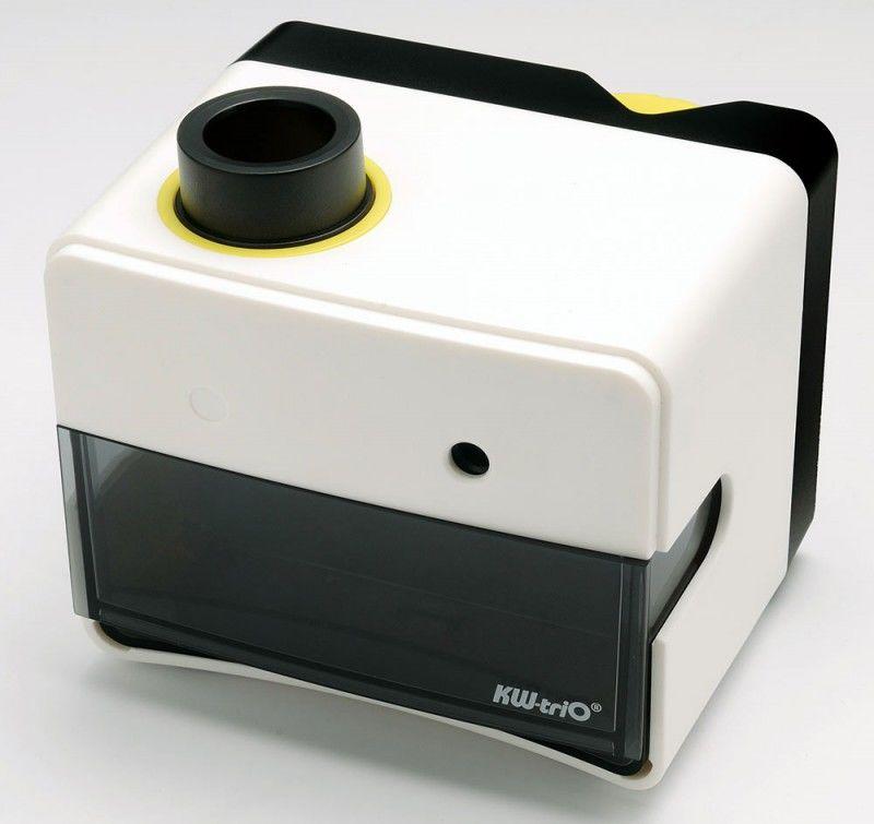 Точилка для карандашей KW-TRIO Cube 030SA  электрическая,  черный