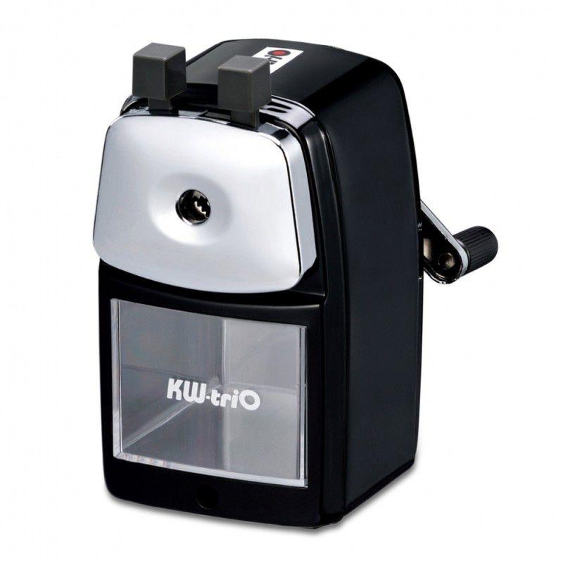 Точилка для карандашей KW-TRIO 30VA  механическая,  черный [30va-blk]