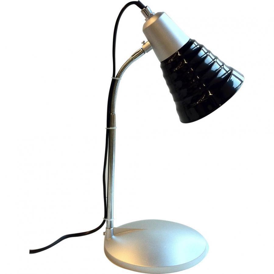 Светильник настольный БЮРОКРАТ BL-050H на подставке,  черный [bl-050h/black]