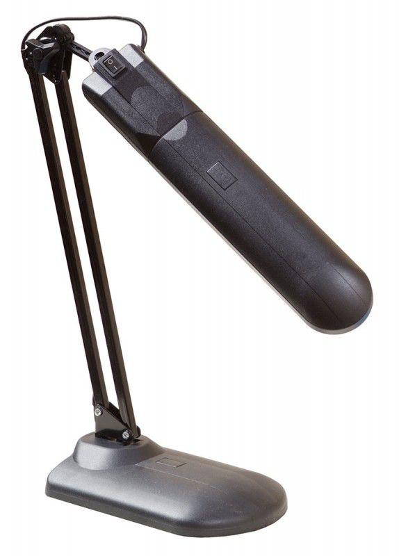 Светильник настольный ТРАНСВИТ ДЕЛЬТА 1У на подставке,  11Вт,  черный [delta1u/bl]