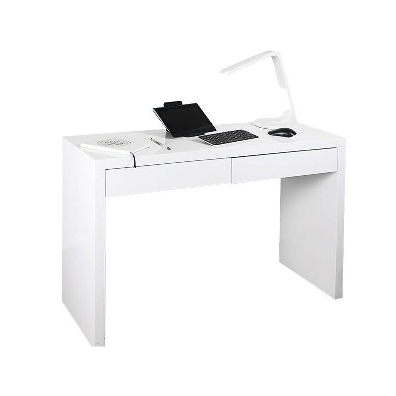 Стол компьютерный  БЮРОКРАТ DL-HG002,  МДФ,  белый