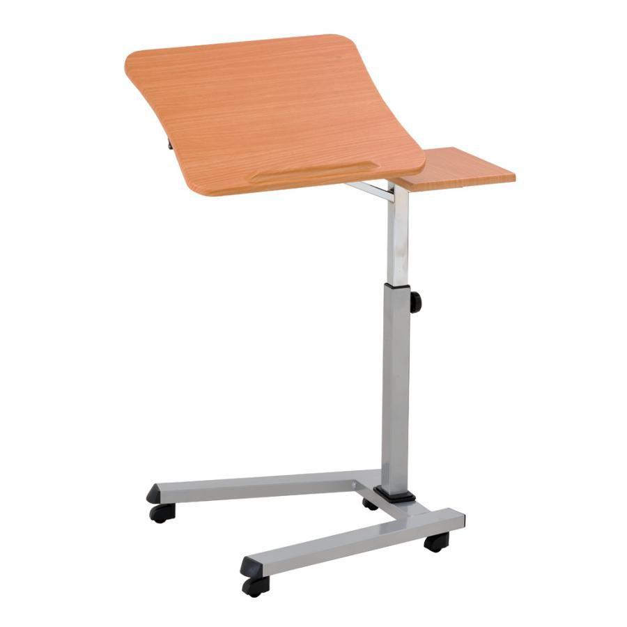 Стол для ноутбука  БЮРОКРАТ LT-001,  МДФ,  бук