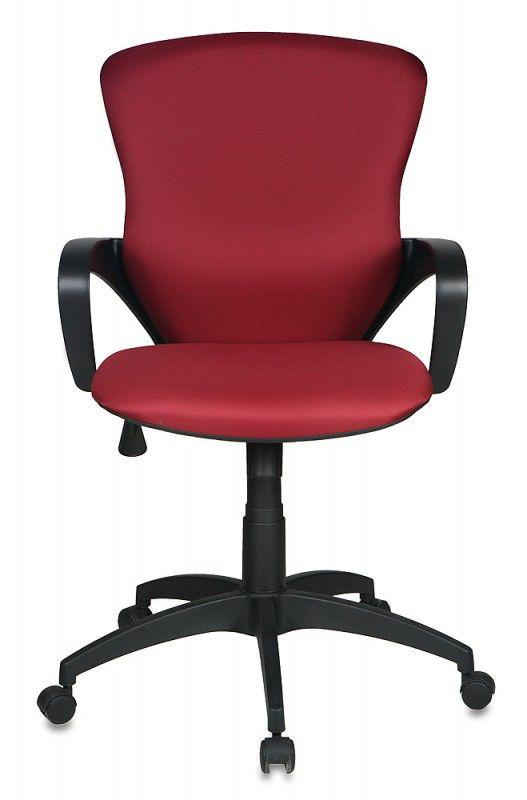 Кресло руководителя БЮРОКРАТ CH-818AXSN-Low, на колесиках, ткань, бордовый [ch-818axsn-low/15-11]