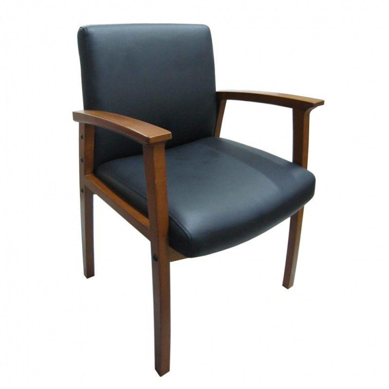Кресло БЮРОКРАТ CH-995-Low-L, на ножках, искусственная кожа, черный [ch-995w-low-l/black]