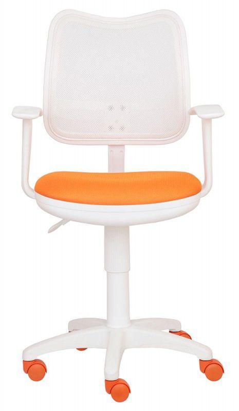 Кресло БЮРОКРАТ CH-W797, на колесиках, оранжевый [ch-w797/wh/tw-96-1]