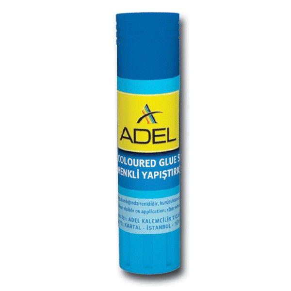 Клей-карандаш Adel COLORED 434-1505-000 8гр цветной (исчезающий цвет)