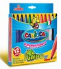 Фломастеры Universal CARIOCA JUMBO 40569 12цв. коробка с европодвесом