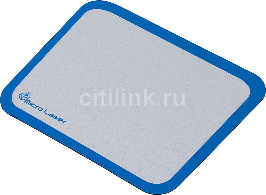 Коврик для мыши  Micro Laser PRO серый/синий