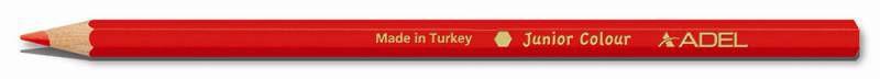Карандаши цветные Adel Colour 211-2315-003 шестигран. 3мм 12цв. алюм.тубус