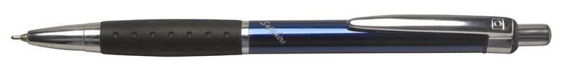 Ручка шариковая Cello SAPPHIRE авт. 0.6мм ассорти синие чернила коробка