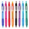 Ручка шариковая Cello JETTA STEEL авт. 0.7мм фиолетовый синие чернила коробка вид 1