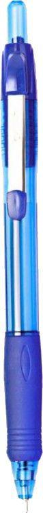Ручка шариковая Cello JETTA STEEL авт. 0.7мм оранжевый синие чернила коробка