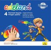 Краски для рисования пальцами Adel ADELAND 234-0630-100 4цв. 45мл. карт.супероб. вид 1