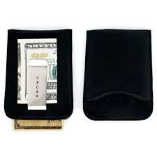 Футляр Cross для визитных и кредитных карточек кожаный перфорированный с зажимом для банкнот черный [ac122-1]