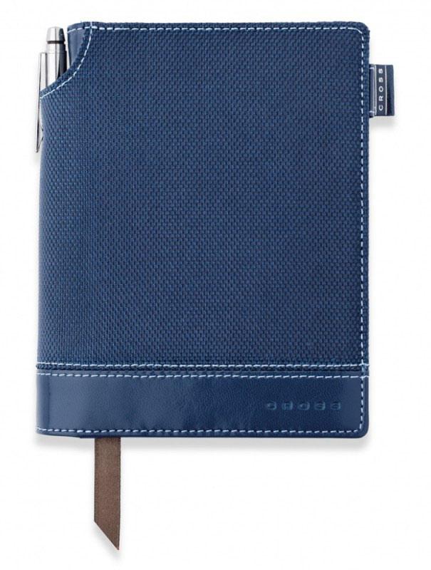 Записная книжка Cross Journal Textured A6 250 страниц в линейку ручка 3/4 в компл синий AC249-3S