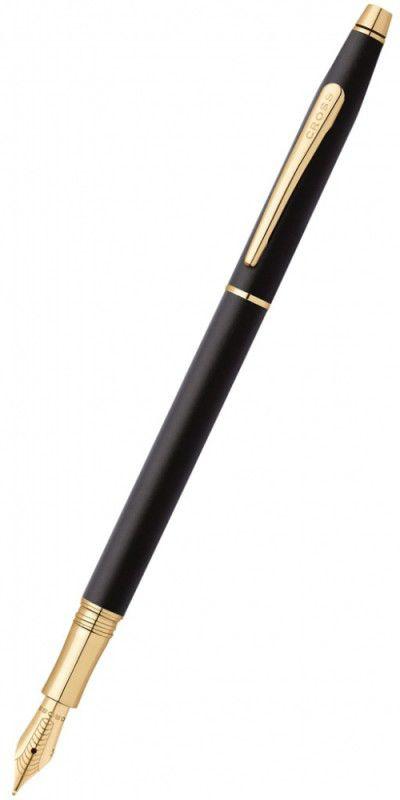 Ручка перьевая Cross Classic Century Classic Black Matte Black GT (AT0086-79FF) (F)
