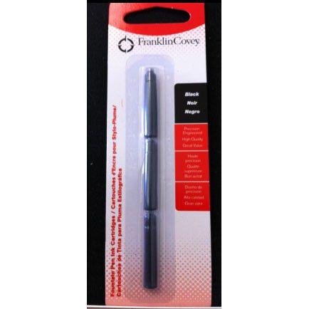 Картридж Franklin Covey (8004-235) черный чернила для ручек перьевых (3шт)
