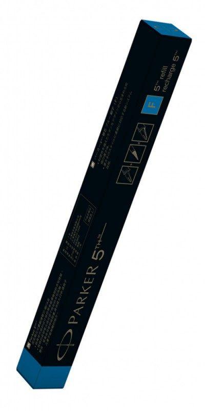 Стержень 5й пишущий узел Parker Refill Z39 (1842750) F синие чернила