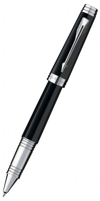 Ручка роллер Parker Premier Lacque T560 (S0887870) Black ST F черные чернила подар.кор.