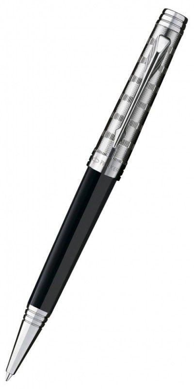 Ручка шариковая Parker Premier Custom K561 (S0887920) Tartan ST F черные чернила подар.кор.