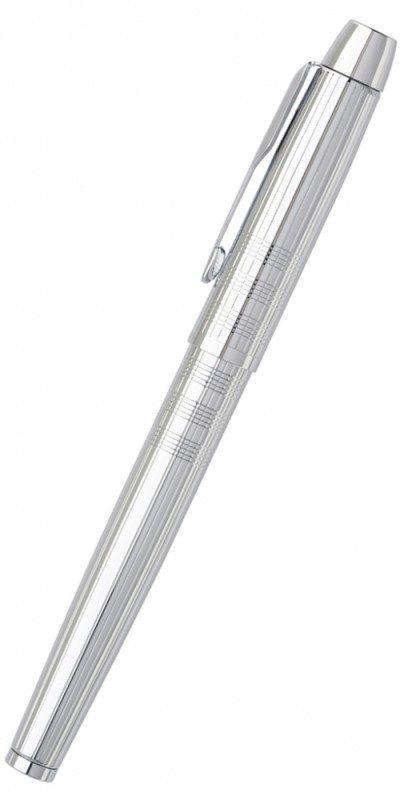 Ручка перьевая Parker IM Premium F222 (S0908640) Shiny Chrome перо сталь нержавеющая гравировка