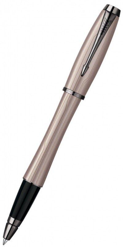 Ручка роллер Parker Urban Premium T204 (S0949270) Metallic Pink CT F черные чернила подар.кор.