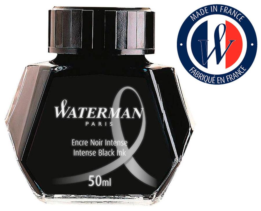 Флакон с чернилами Waterman Ink Bottle (S0110710) черный чернила для ручек перьевых
