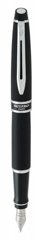 Ручка перьевая Waterman Expert 27531 F (S0701300) Matte Black CT F сталь нержавеющая подар.кор.