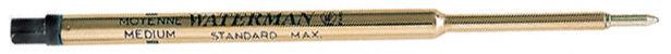 Стержень гелевый Waterman Standard Maxima (S0791030) M черный чернила