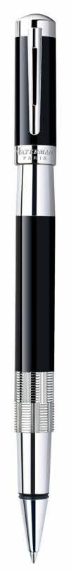 Ручка роллер Waterman Elegance (S0891450) Black ST (F) чернила: черный латунь посеребрение