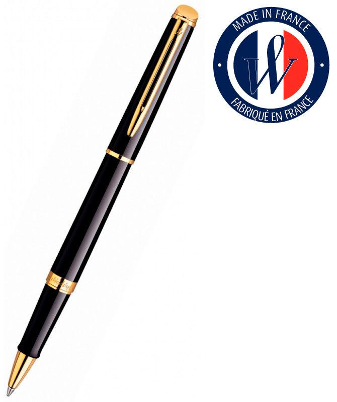 Ручка роллер Waterman Hemisphere (S0920650) Mars Black GT F черные чернила подар.кор.