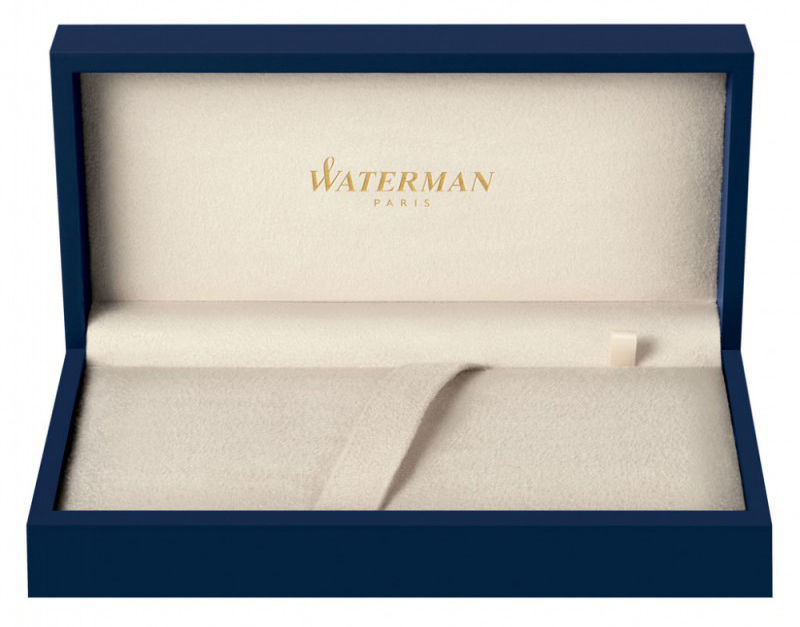 Ручка перьевая Waterman Hemisphere (S0920910) White CT F сталь с хромированным покрытием подар.кор.