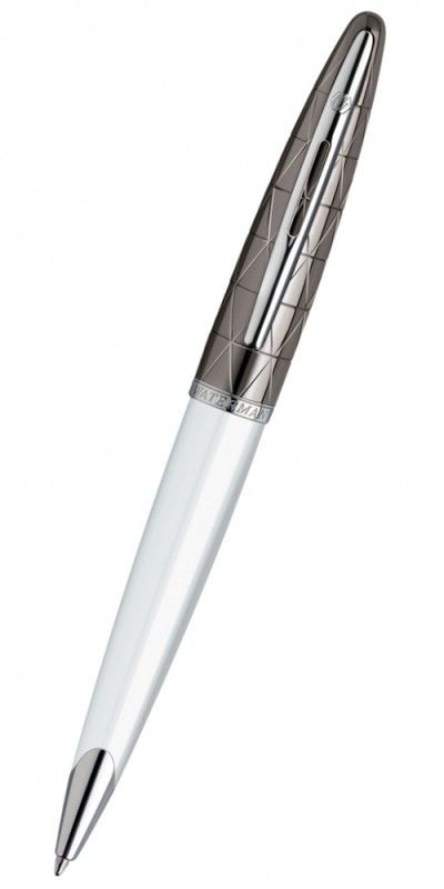 Ручка шариковая Waterman Carene (S0944680) White ST M синие чернила подар.кор.