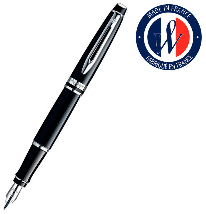 Ручка перьевая Waterman Expert 3 (S0951740) Black CT F сталь подар.кор.