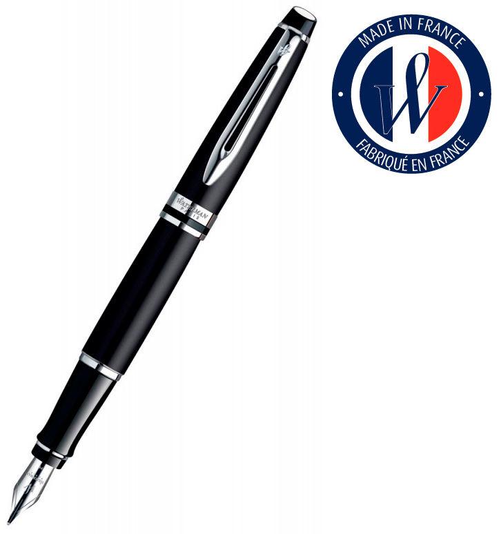 Ручка перьевая Waterman Expert 3 (S0951840) Matte Black CT F сталь подар.кор.