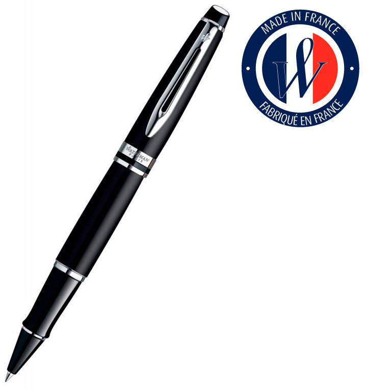Ручка роллер Waterman Expert 3 (S0951880) Matte Black CT F черные чернила подар.кор.