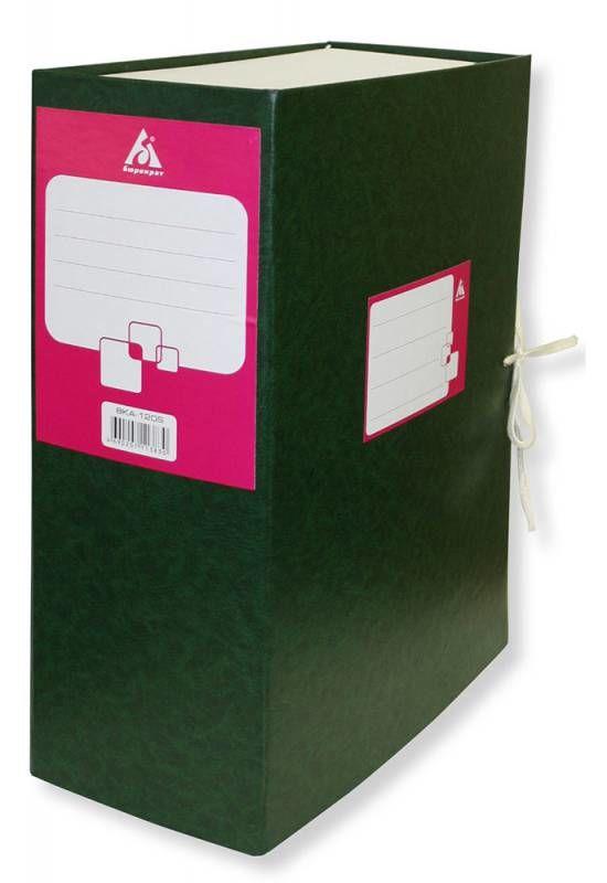 Короб архивный 2 завязки Бюрократ BKA-120S/2 бумвинил корешок 120мм разобранный ассорти (упак.:2шт)