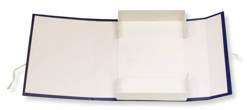 Короб архивный 2 завязки Бюрократ BKA-80S бумвинил корешок 80мм разобранный A4 ассорти