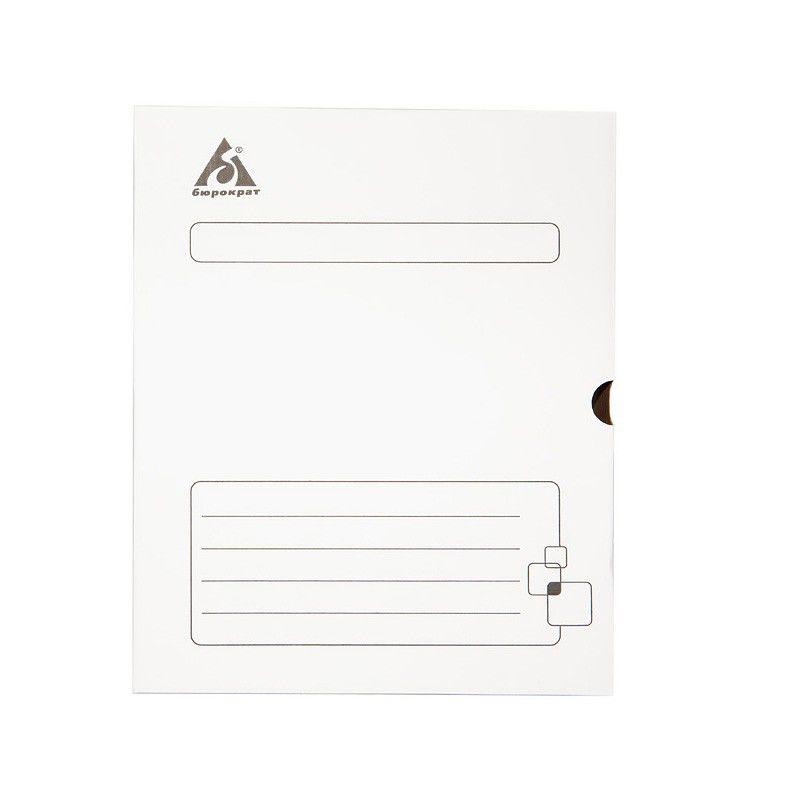Короб архивный Бюрократ KKA-75WT микрогофрокартон корешок 75мм 260x325x75мм белый