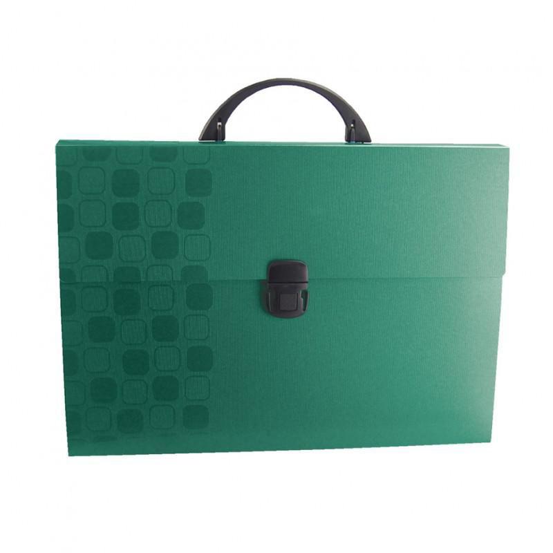 Портфель Бюрократ Concept -CONPP01 1 отдел. A4 пластик 0.7мм ассорти