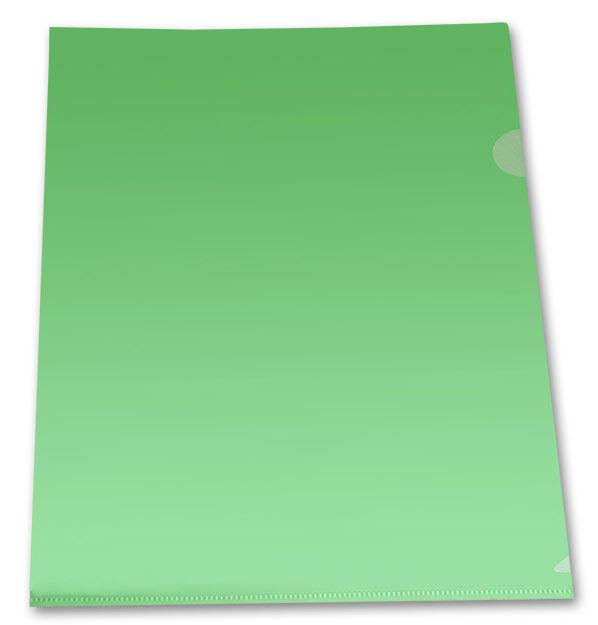 Папка-уголок Бюрократ Economy -E100BLU тисненый A4 пластик 0.10мм синий
