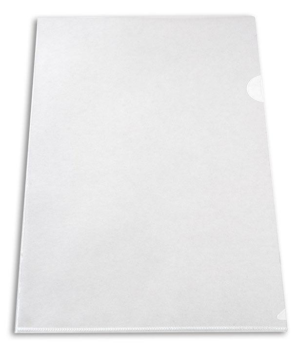 Папка-уголок Бюрократ -EE310/1CLEAR A4 пластик 0.15мм прозрачный