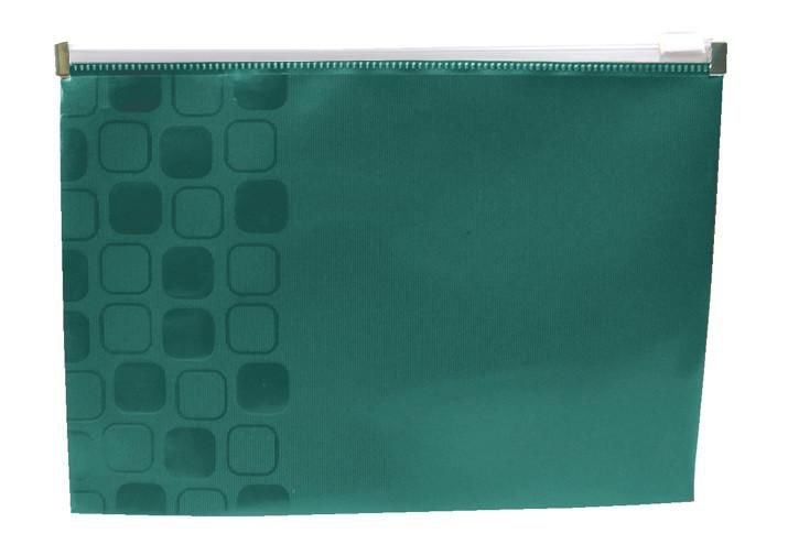 Папка на молнии ZIP Бюрократ CONCEPT CONZA5 А5 карман под визитку ПП пластик 0.2мм ассорти [-conza5]