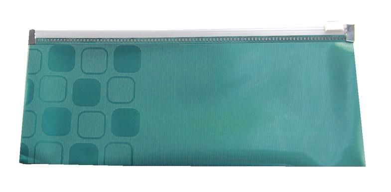 Папка на молнии ZIP Бюрократ CONCEPT CONZA6 А6 (230х100мм) карман под визитку ПП 0.2мм ассорти [-conza6]