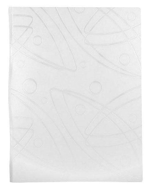 Папка с 20 прозр.вклад. Бюрократ Galaxy -GA20WT A4 пластик 0.7мм белый