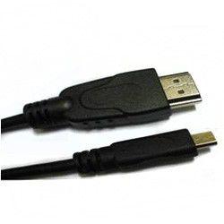 Кабель аудио-видео BURO HDMI (m)  -  Micro HDMI (m) ,  ver 1.4, 5м, черный
